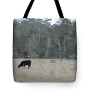 Impressionist Cows Grazing Tote Bag