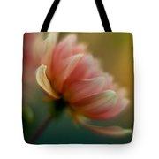 Impressionist Dahlia Tote Bag