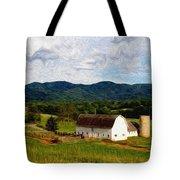 Impressionist Farming Tote Bag