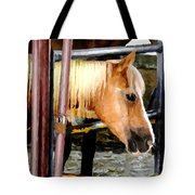 Impressionist Horse Tote Bag