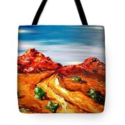 Impressionist Road Tote Bag
