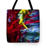 Impressionist Sea Horse Tote Bag