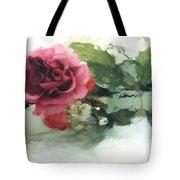 Impressionistic Watercolor Roses, Romantic Watercolor Pink Rose  Tote Bag