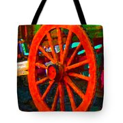 Impressionistic Photo Paint Ls 011 Tote Bag