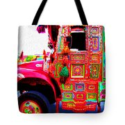 Impressionistic Photo Paint Ls 017 Tote Bag