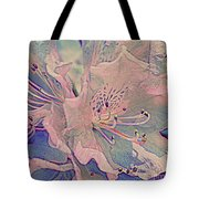 Impressionistic Spring Blossoms Tote Bag