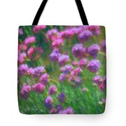 Impressions Of Purple Tote Bag