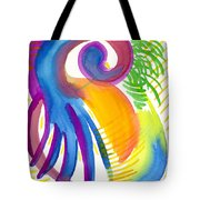 Impressions Of Tropics Tote Bag