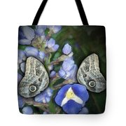 In A Butterfly Garden Two Tote Bag
