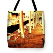 In A City Of Gold Tote Bag