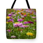 In A Field Of Flowers Tote Bag