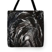 In A Fit Of Darkness Tote Bag