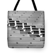 In An Orderly Fashion Tote Bag