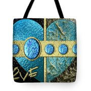 In And Out Of Love Tote Bag