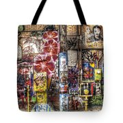 In Between The Lines Tote Bag