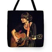 In Concert With Folk Singer Pieta Brown Tote Bag