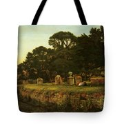 In Country Churchyard Wittington Worcester Tote Bag