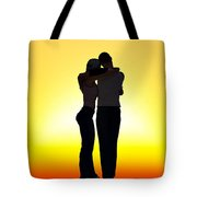 In Each Others Arms... Tote Bag
