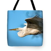 In Flight With Stick Tote Bag