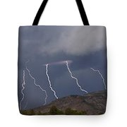 In From The West  15x81 Tote Bag