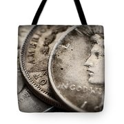 In God We Trust_silver Dollars Tote Bag