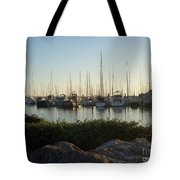 In Harbor Tote Bag by Amy Strong