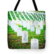 In Honor And Tribute Tote Bag by Greg Fortier