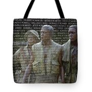 In Life And Death Tote Bag