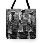 In Line For Assistance Tote Bag