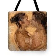 In Love With A Girl Tote Bag