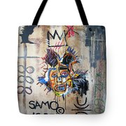 In Memory Basquiat Tote Bag