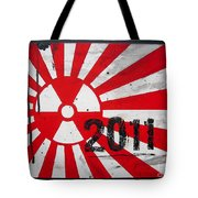 in memory Japan 2011 Tote Bag