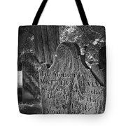 In Memory Of Tote Bag