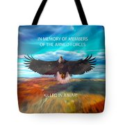 In Memoryof Armed Forces Tote Bag
