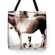 In Mom's Shadow Tote Bag