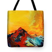 In Mountains Tote Bag
