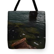 In Our Rusty Submarine Tote Bag