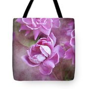 In Pink Tote Bag
