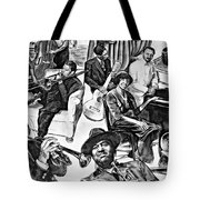 In Praise Of Jazz II Tote Bag