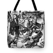 In Praise Of Jazz Iv Tote Bag