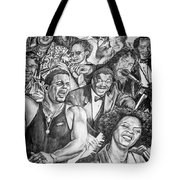 In Praise Of Jazz Tote Bag