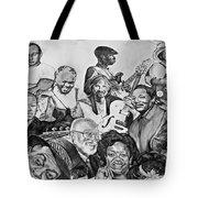 In Praise Of Jazz V Tote Bag