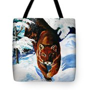 In Pursuit Tote Bag