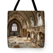 Faith In Ruins Tote Bag
