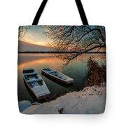In Safe Harbor Tote Bag by Davorin Mance