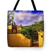 In Santa Fe - New Mexico Tote Bag