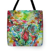 In Silence The Inaudible Voices Spoke Tote Bag