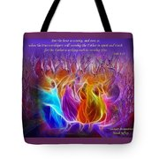 In Spirit And Truth Tote Bag