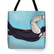 In The Air Tote Bag by Anastasiya Malakhova