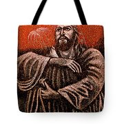 In The Arms Of Christ Tote Bag